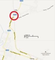 Lalig crossing map