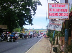 Gumaca KM196 Crossing