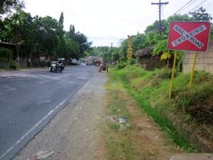 Gumaca KM198 Crossing
