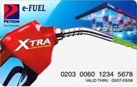 A re-loadable fuel card.