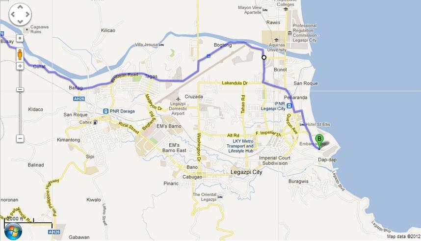 Pasko Legazpi City Misadventure Riderako - Legazpi city map