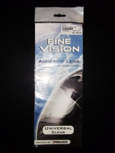 Pinlock universal clear adhesive anti-fog lens at 50% off.