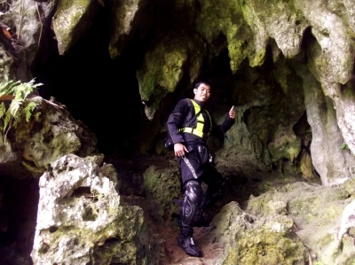 ATTGAT: Because stalactites and stalagmites has sharp, jagged edges :p