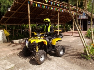 "The ATV ride costs Php 1850 for 3 hours. No, thank you. I've had enough ""off-road"" experience thanks to DPWH."