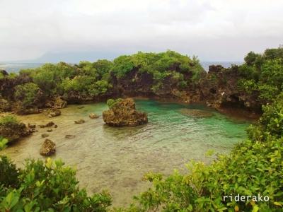 The stunning lagoon. Stunning, I tell ya!