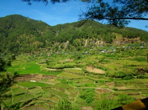 The Kapay-aw Terraces near Sumaguing Cave