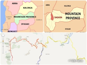 Sagada is a municipality of Mt. Province.