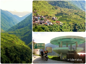 the picturesque Bay-yo Rice Terraces. She's a real beauty!