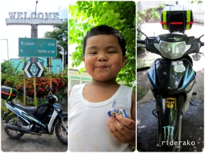 Just after exactly 8 hours, I was home in Ligao City. My nephew was thrilled to see me.
