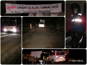Going off-road in some parts of Quezon, The rain only made it more dangerous.