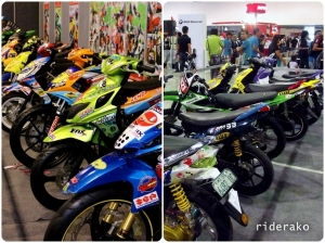 Shown in here are the bikes of Inside Racing Grand Prix