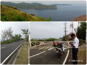 Caylabne entrance is just 2 kms away from the Marine Base and the resort itself is another 2 kms from the entrance.