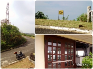 On my way (up and) out, I stopped by this run down rest area. It offers another panoramic view of Manila Bay