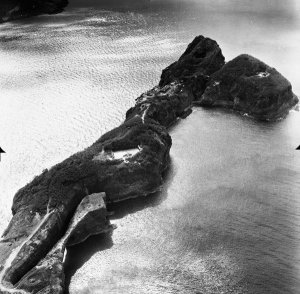 According to Karl Welteke of corregidor.proboards.com: This is a rare Carabao Island image from NARA.