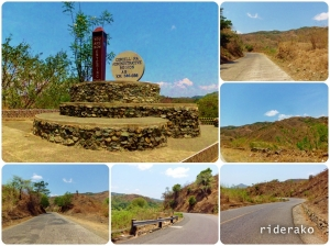KM 386 marks the boundary of Ilocos and CAR. It's a hot, hot ride going up the hill.