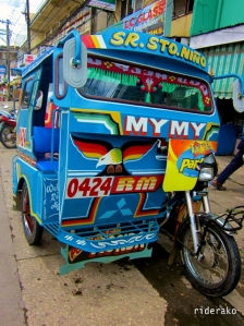Catbalogan City's tricycle. Colorful, sturdy, and spacious