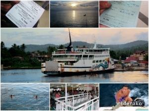 Finally got myself to Allen Port by 5PM. Goodbye Visayas!