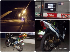 04:00 AM After 140 kms, I stopped by a Petron gasoline station in Mabalacat just before crossing from Pampanga to Bamban, Tarlac.