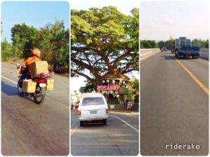 """Some """"on the road"""" pictures while making my way out of La Union."""