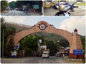 Before 9 AM, I am at the boundary of La Union and Ilocos Sur. The town of Sudipen reminds me of Naruto
