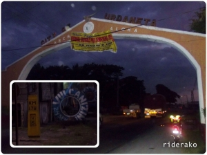 05:35 AM I entered Urdaneta City at KM 178. Vigan is KM 395