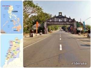 The Ilocos Sur-Ilocos Norte Boundary.Interestingly, it is 40 kms from Vigan and also 40 kms from Laoag from the opposite direction.