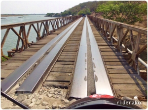 """Steel doesn't really make a good """"road surface"""""""