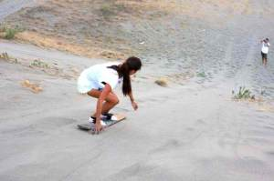 Here's actress Solenn Heussaff on the board. Photo credits to the original owner