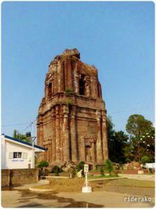 Looking at it from a distance, the base seems not wide enough (like Laoag Bell Tower) for something that tall