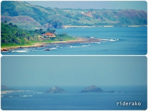 and also THIS! Even if it is over 8 kms away, Bantay Abot and Dos Hermanos can be easily recognized from here.