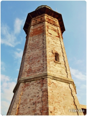 This octagonal stone tower is 20 meters tall