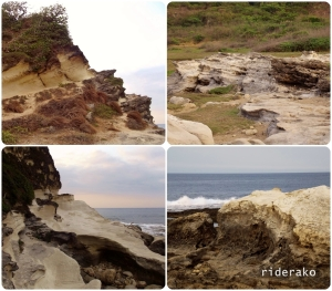 more rock formations..