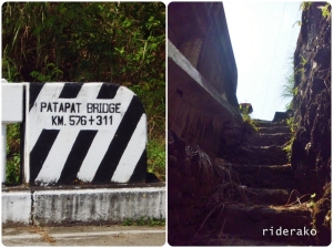 I found the stairs at the eastern end of the bridge (Cagayan side)