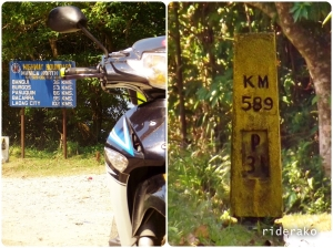 Ilocos-Cagayan boundary in KM 589