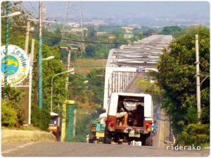 At the other side of the bridge after Tuguegarao