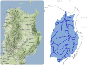 Cagayan River and its tributaries