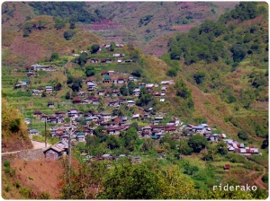 I was surprised how populated Sadanga is. I was expecting way less houses than this.