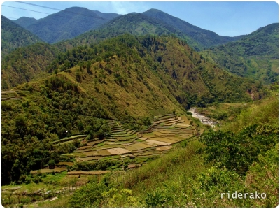 There were still some terraces in this area. This is right about in the boundary of Bontoc and Sadanga