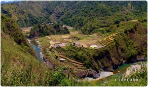 Betwagan Rice Terraces and the Nearby Villages