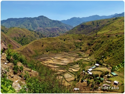 Brgy Betwagan: The rice terraces high and low, the partially hidden villageand the school