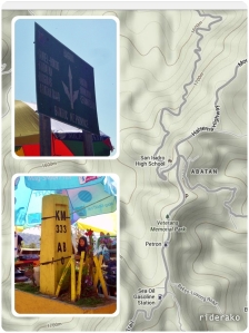 I was enjoying the curves so much, I forgot to refuel here in Abatan. This is midway Bontoc-Baguio.