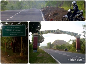 Camarines Norte - Camarines Sur boundary