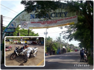 0730H After a quick stop in Sipocot, we arrived in Naga City