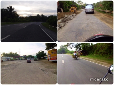 Surprisingly, Quirino Highway has improved a lot.