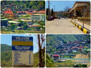 I refuelled in Bontoc and then started heading up to Sagada.