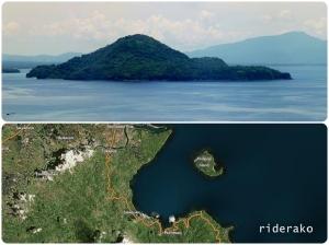 Atulayan Island and the coastal road of Tiwi - Sagnay