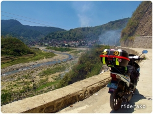 There it is, Bontoc proper.
