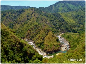 Now that I think about it, the winding Mighty Chico River was my companion since I started in Tabuk City.