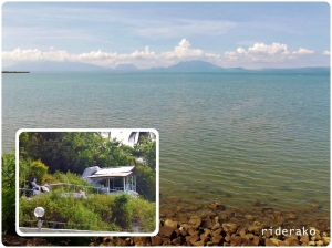 If you want a better view of Sorsogon Bay, there's a grotto up Paroja Hill just across the street.