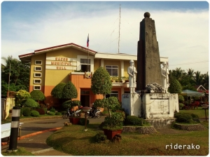 Passed by the Bacon Municipal Hall on our way back to the main highway